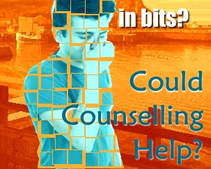 A woman standIn Bits? Could counselling help?